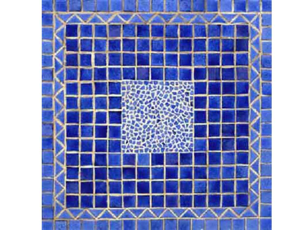 Square Mosaic Table Top 120 X 120 Cm