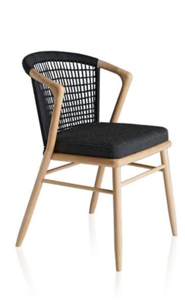Contemporary design luxury dining armchair