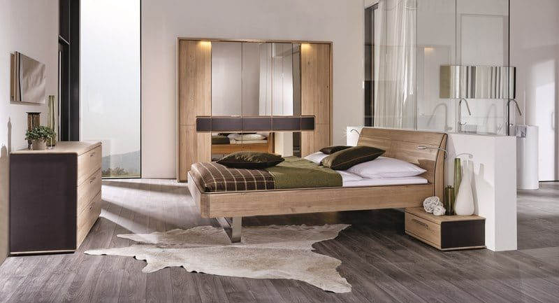 Oak luxury bedroom furniture