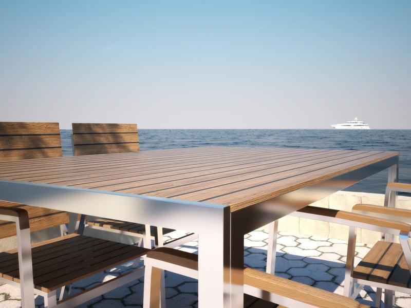 Table Et Chaise De Jardin Design