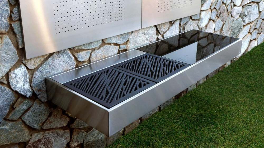 barbecue grill modular outdoor kitchen