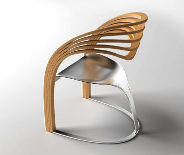 Elaxa designer chair by Velichko Velikov