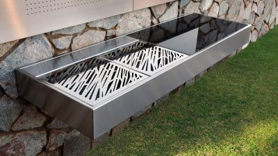 grill mural modular outdoor kitchen